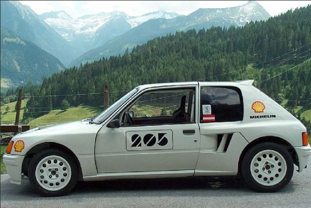 Peugeot 205 for Garage peugeot villeurbanne